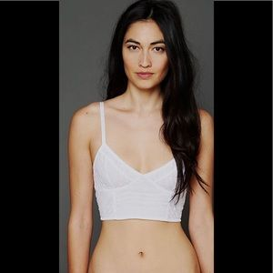 🛍2 for $25🛍NWT Free People Lace Crop Bra